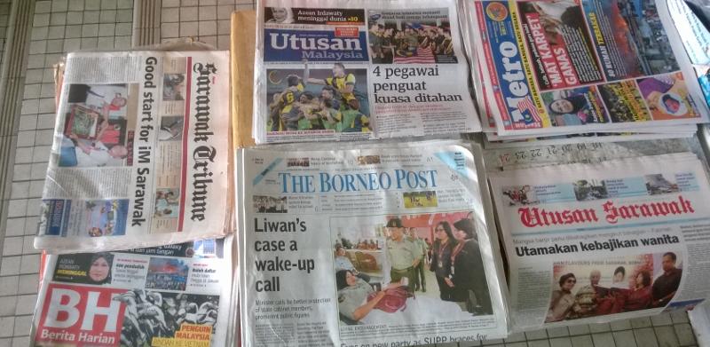 Saravako laikraščiai