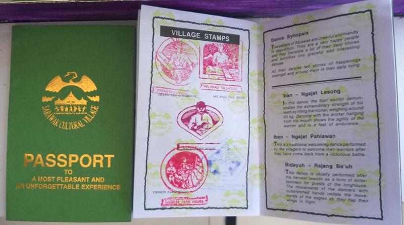 Sarawako etnografinio muziejaus pasas