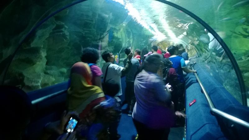 Kvala Lumpūro akvariumų komplekse